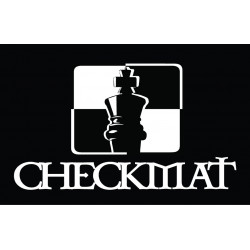 CheckMat Patch Black