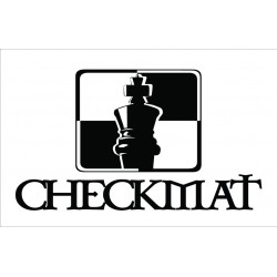 CheckMat Patch White