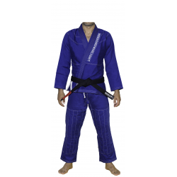 MokaHardware Blå Simple BJJ Gi Contrast