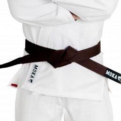 Mokahardware BJJ Belt Brown