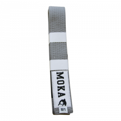 Mokahardware Kids BJJ Belt Gray