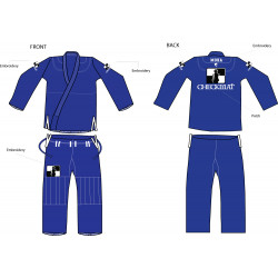 CheckMat Blue BJJ Gi