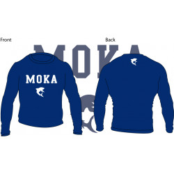 Moka Rash Guard Blue