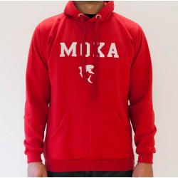 MOKA Hoodie Red
