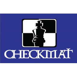 CheckMat Patch Blå