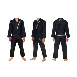 MokaHardware Black Simple BJJ Gi