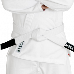 Mokahardware BJJ Belt White