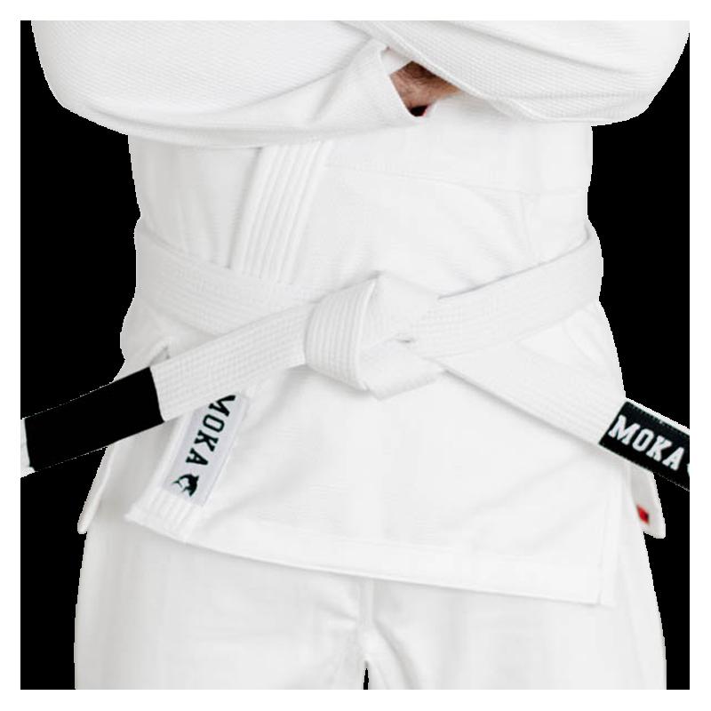 Mokahardware BJJ Belt White