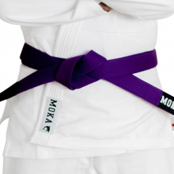 Mokahardware BJJ Belt Purple