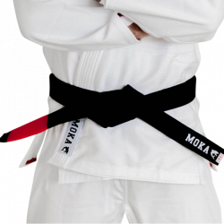 Mokahardware BJJ Belt Black