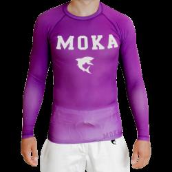 Moka Rash Guard Purple