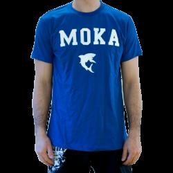 Moka T-Shirt Blue