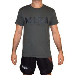 Moka Solid Gray T-Shirt