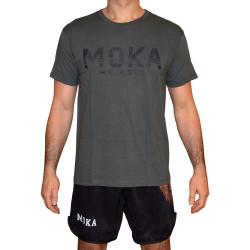 Moka Strips Grå