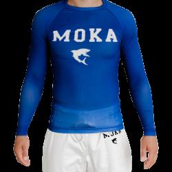Moka Rash Guard Blue