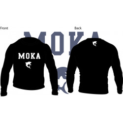 Moka Rash Guard Black