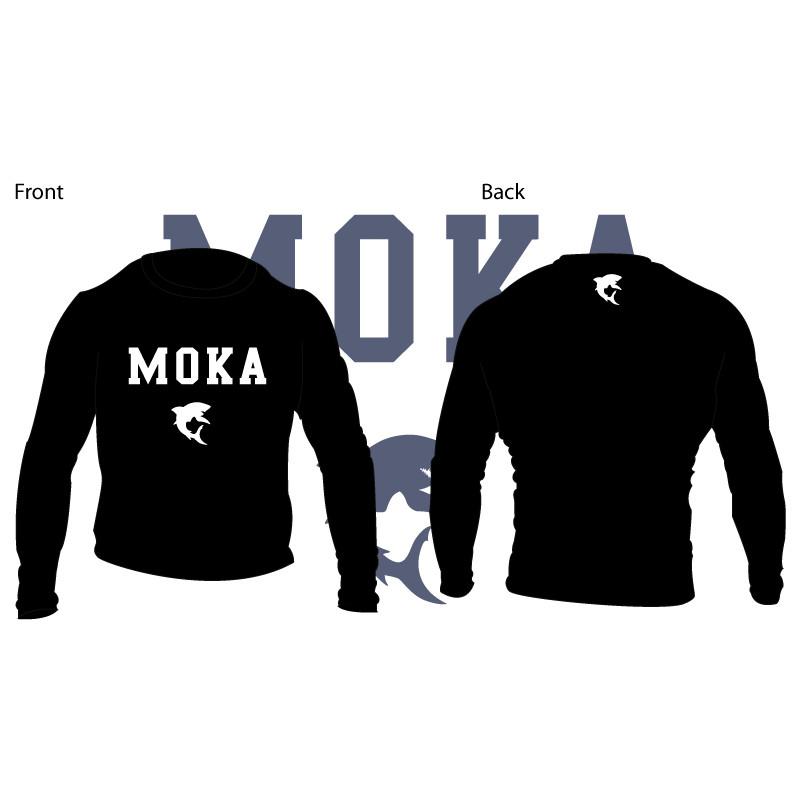 Moka Rash Guard Black