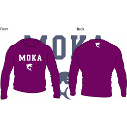 Moka Rash Guard Purple