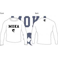 Moka Rash Guard White